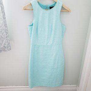 Tailored line cotton dress